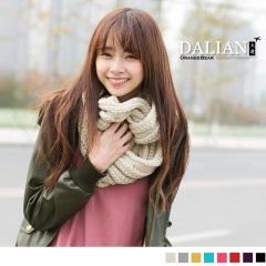 0203新品 【特價款】 溫柔蔓延~小麻花紋路針織圍巾/圍脖‧8色