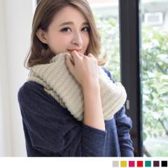 0206新品 【特價款】 人氣破表~百搭設計款針織圍巾/圍脖‧7色