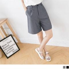 0522新品 流行指標~嚴選寬版西裝材質中長五分褲.2色