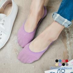 0719新品【特價款】止滑升級~止滑設計親膚隱形襪‧兩入一組‧8色