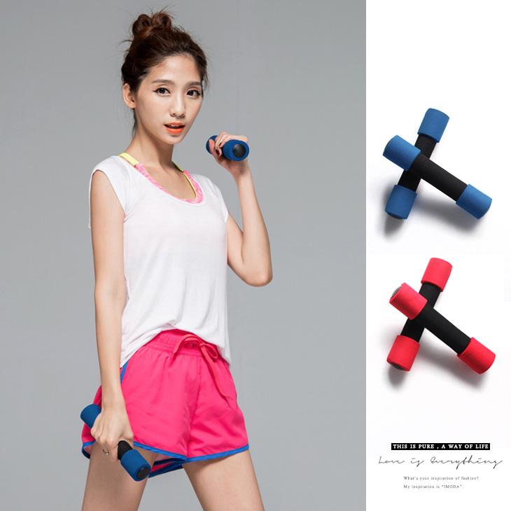 提升肌耐力運動健身啞鈴(1KG)/2入1組.2色