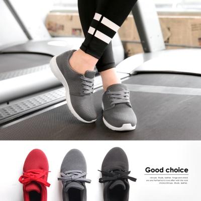 透氣舒適感休閒運動鞋.3色