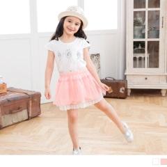 【週年慶♥童裝殺99】芭蕾女孩印花圓領棉質上衣.童2色