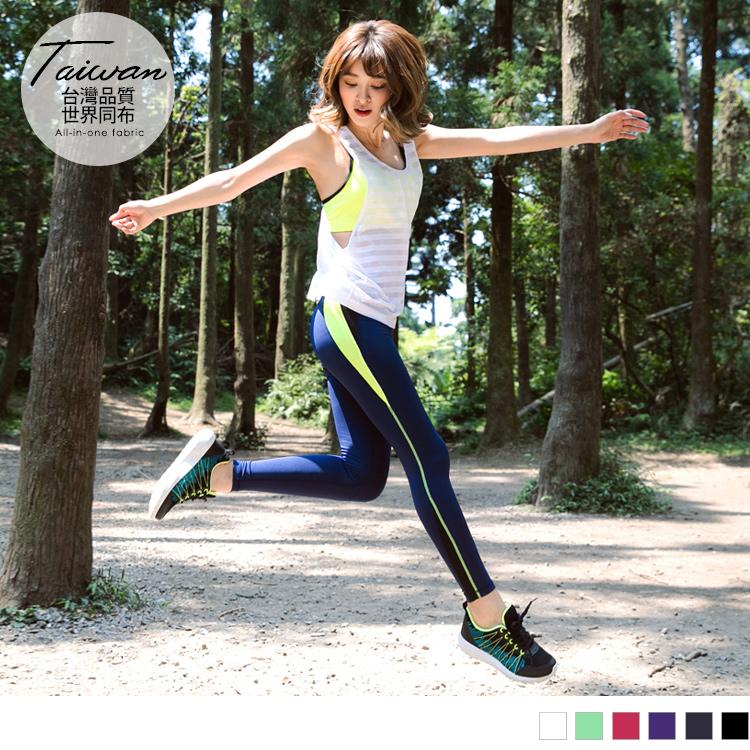 台灣品質.世界同布~橫紋透膚胸抓皺造型挖背背心.6色