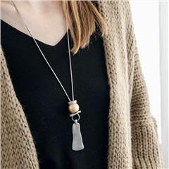 質感層次立體珠飾項鍊