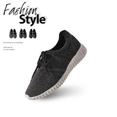 0803新品 台灣製造~花紗混色輕量彈力休閒運動鞋‧3色