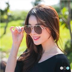 0308新品 【特價款】復古平面水銀反光飛行員墨鏡/太陽眼鏡.3色