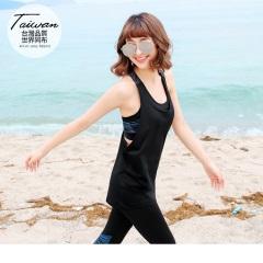 台灣品質.世界同布~海洋系列Y字吊帶外罩運動背心