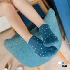 0619新品 【特價款】活潑水玉點點船型襪.6色