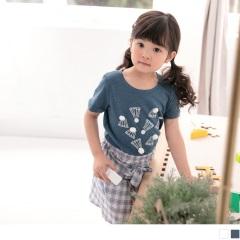 【週年慶♥童裝殺99】立體羽毛球印花短袖圓領上衣‧童2色