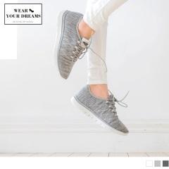台灣製造.高彈迴力~繡線造型透氣減震運動休閒鞋.3色