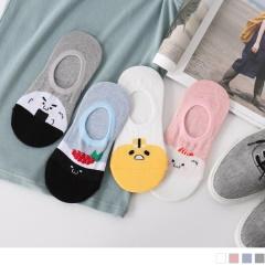 0619新品 【特價款】韓國可愛壽司圖案隱形襪.4色(3入198)