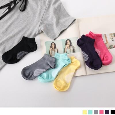 0626新品 【特價款】多色足弓加強薄款船型運動襪.6色(3入198)
