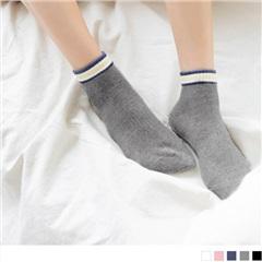0724新品【特價款】韓國腳踝拼色足弓加強短筒襪.5色(任3入198)
