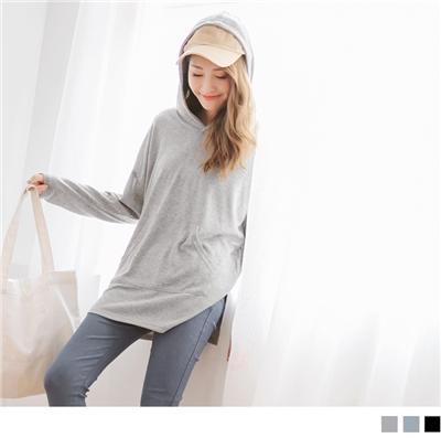0930新品 口袋造型連帽寬鬆上衣