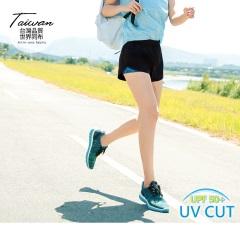 彈力內裡印花抗UV運動短褲