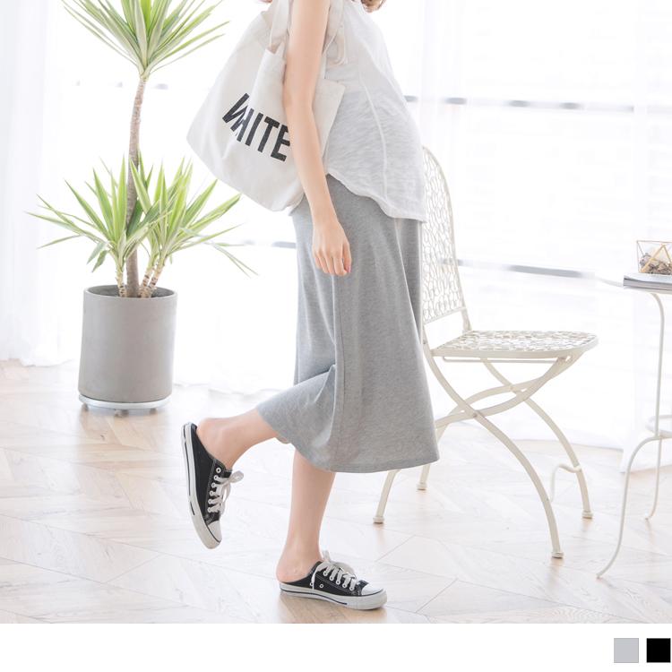 高含棉伞䙓孕妇中长裙