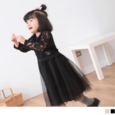 【買就抽機票】 蕾絲雕花澎澎裙兩件式洋裝