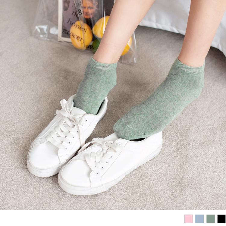 粉嫩色调混色短袜(3入198)