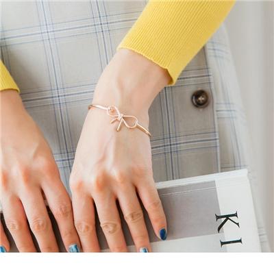 1026新品 蝴蝶結造型手環