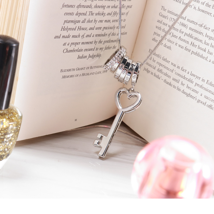 圆环钥匙长链