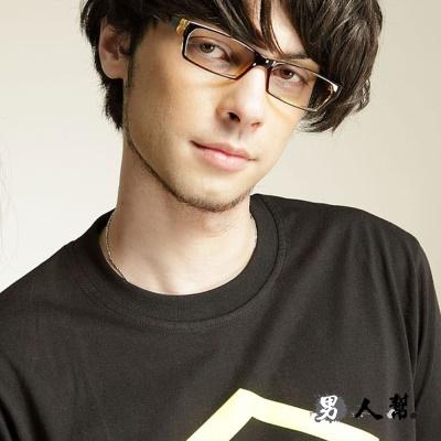 男人幫- 復古百搭學院風 個性百搭黑框眼鏡(Z0216)
