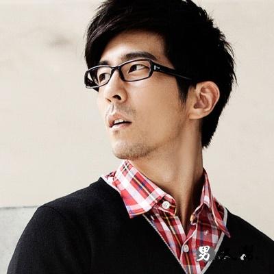 男人幫- 復古中性霧黑膠框眼鏡 東京/嘻哈/街頭(Z0164)