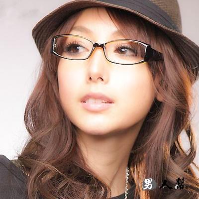 男人幫- 雜誌人氣 休閒簡約膠框眼鏡(Z0214)