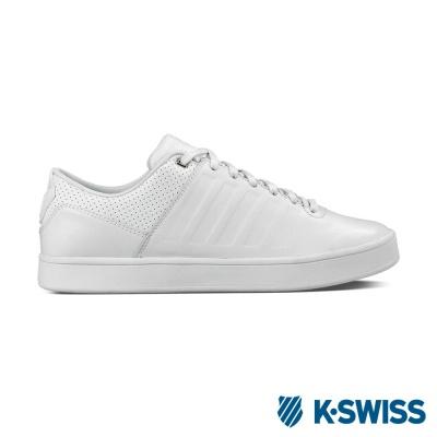 K-Swiss Court Westan休閒運動鞋-男-白
