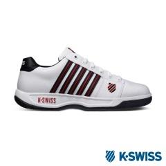 K-Swiss Eadall休閒運動鞋-男-白/黑/紅
