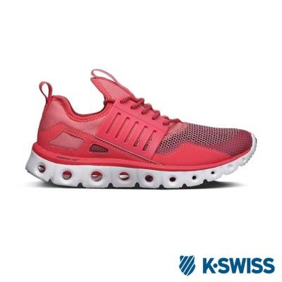 K-Swiss Tubes Runner CMF輕量訓練鞋-女-珊瑚粉/白