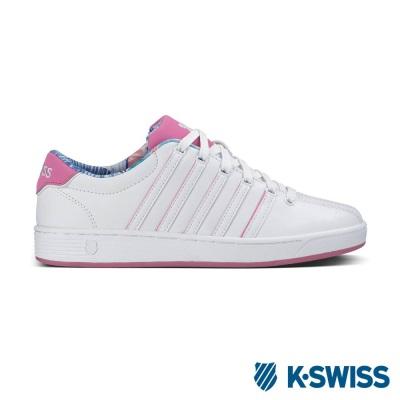 K-Swiss Court Pro II SP CMF經典休閒鞋-女-白/粉紅