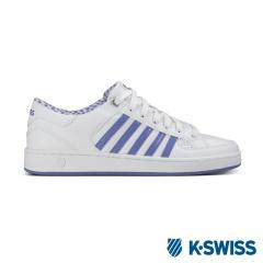 K-Swiss Barnwell S CMF經典休閒鞋-女-白/丁香紫