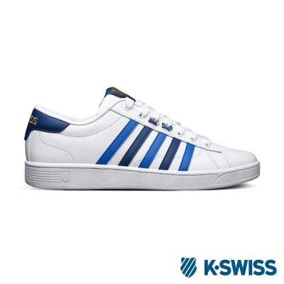 K-Swiss Hoke CMF美式休閒鞋-男-白/藍/海軍藍
