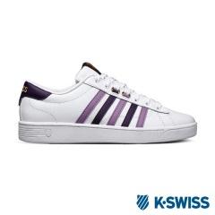 K-Swiss Hoke CMF美式休閒鞋-女-白/紫