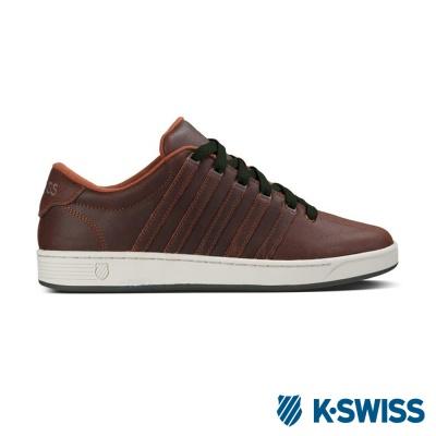 K-Swiss Court Pro II C CMF經典休閒鞋-男咖啡/墨綠
