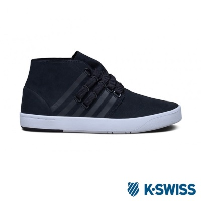 K-Swiss DR Cinch Chukka摩登休閒鞋-男-黑