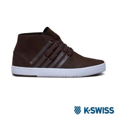 K-Swiss D R Cinch Chukka摩登休閒鞋-男-咖啡