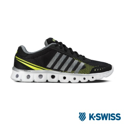 K-Swiss X Lite Athletic CMF運動鞋-男-黑/黃