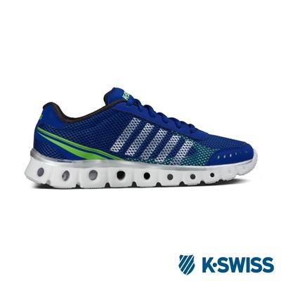 K-Swiss X Lite Athletic CMF運動鞋-男-藍/綠