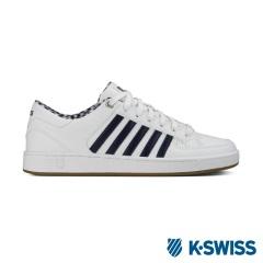 K-Swiss Barnwell S CMF經典休閒鞋-男-白/海軍藍