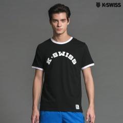 K-Swiss KS Puff Print Tee印花短袖T恤-男-黑