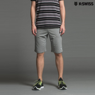 K-Swiss Sweat Shorts W/rf PT運動短褲-男-灰