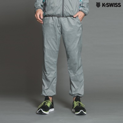 K-Swiss Track Pants運動長褲-男-灰