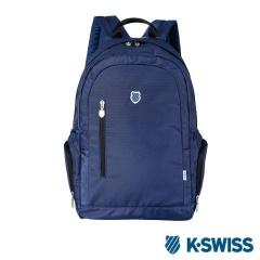 K-Swiss CS BS Backpack休閒後背包-藍