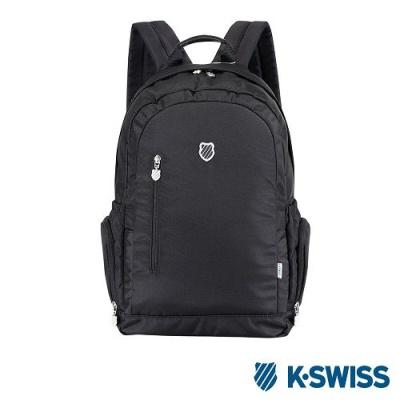 K-Swiss CS BS Backpack休閒後背包-黑