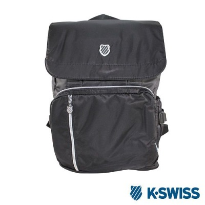 K-Swiss CS FC Backpack休閒後背包-黑