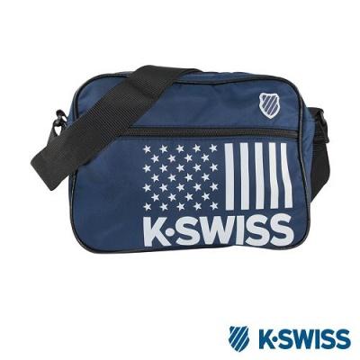 K-Swiss CS-Shoulder Bag休閒斜背包-藍