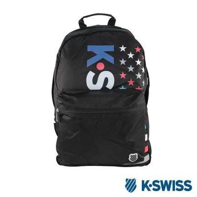 K-Swiss CS-PT Backpack休閒後背包-黑