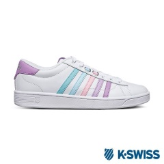 K-Swiss Hoke CMF休閒運動鞋-女-白/紫粉漸層